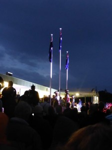 Quinn's Rpck RSL Perth Dawn Service from Peter Downey.