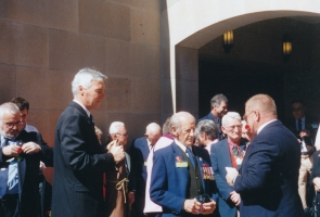 Ross Darrigan, Reg Markham, R Kimm, N Stockdale