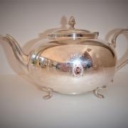 Tea Pot, engraved