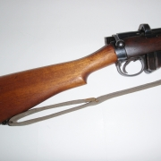 This one is a Mark 3, 1918. With charger guide. The Rear of the bolt is verticle with grips.
